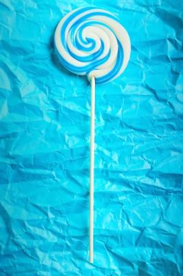 blue lolly ocean