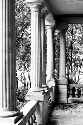 front porch of Hill House